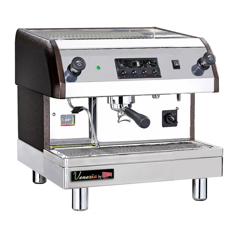 Cecilware ESP1-220V Single Espresso Machine w/ 240-Cups/hr Capacity, Automatic, 240v