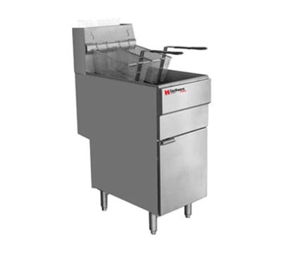 Cecilware FMS705LP Gas Fryer - (1) 70 lb Vat, Floor Model, LP