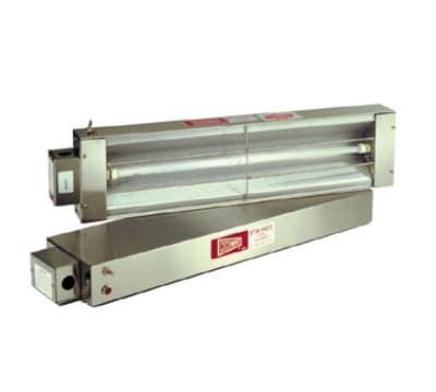 "Cecilware FW48M 48"" Heat Lamp w/ Single Rod, Toggle Control, 120v/800w"