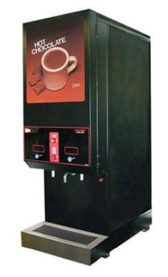 Cecilware GB2 SKI-BL-LD-HC Hot Chocolate Dispenser w/ (2) 14-lb Hoppers, 120v