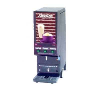 Cecilware GB3CP 3 Flavor Cappuccino Machine w/ (3) 4-lb Hoppers, 120v