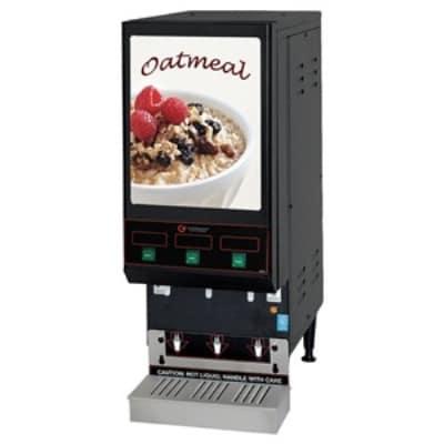 Cecilware GB3 LPO 3-Flavor Oatmeal Dispenser w/ (3) 4-lb Hoppers, 120v