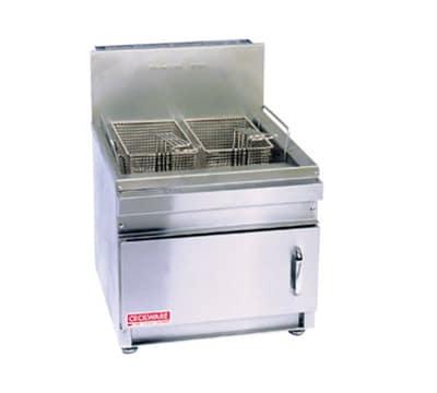 Cecilware GF16NG Countertop Gas Fryer - (1) 16-lb Vat, NG