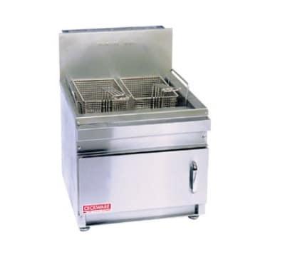 Cecilware GF28 Countertop Gas Fryer - (1) 28-lb Vat, NG