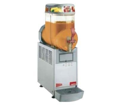 Cecilware MT1MINI Single Slush Machine w/ 1.5 gal Bowl Capacity, Manual Fill, Stainless, 120v