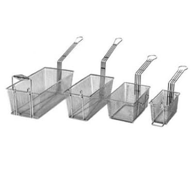 "Cecilware V006A Fryer Basket w/ Uncoated Handle & Front Hook, 8.75"" x 3.5"" x 4.5"""