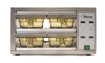 Merco Savory 86002 MHC-22-GEN Holding Cabinet w/ 4-Bin Size, 120v