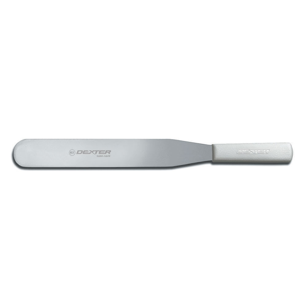 "Dexter Russell S284-12PCP 12""  Sani-Safe® Spatula w/ Polypropylene White Handle, Stainless Steel"