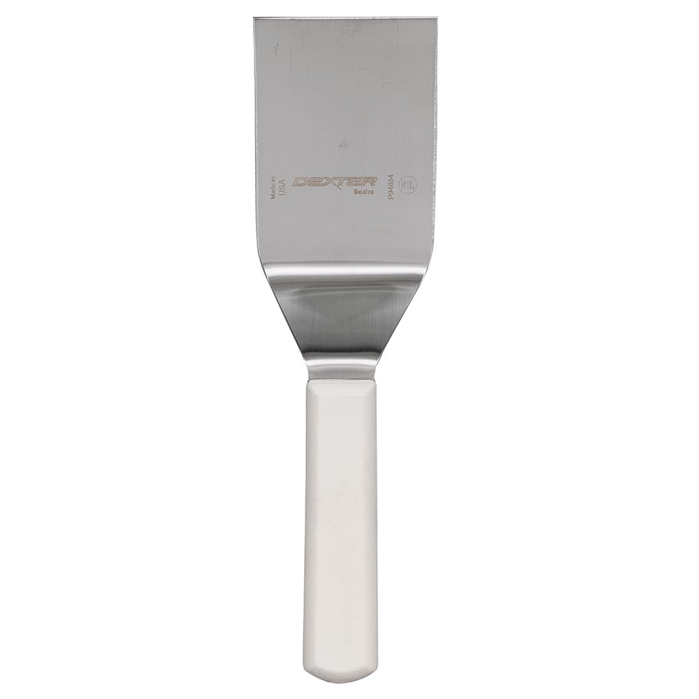 "Dexter Russell P94854 4""x3"" Hamburger Turner w/ Polypropylene Handle, Stainless Steel"