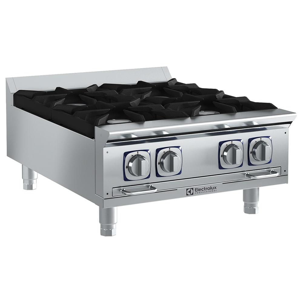 "Electrolux 169102 24"" Gas Hotplate w/ (4) Burners & Manual Controls"