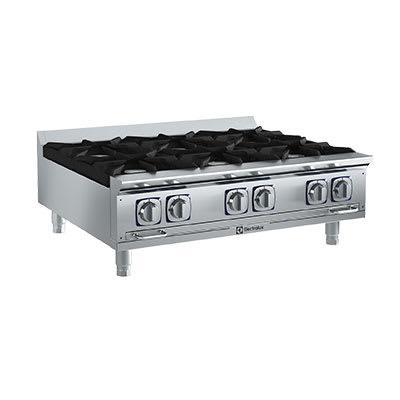 "Electrolux 169103 36"" Gas Hotplate w/ (6) Burners & Manual Controls, NG"