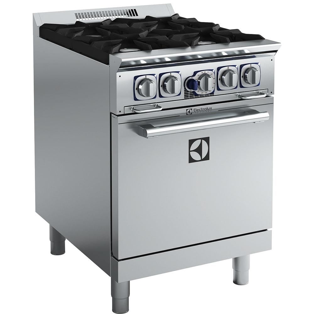 Electrolux 169105 24 4 Burner Gas
