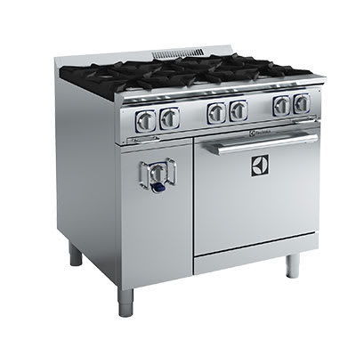 "Electrolux 169106 36"" 6-Burner Gas Range, LP"