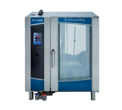 Electrolux 267372 Half-Size Combi-Oven, Boilerless, 208v/3ph