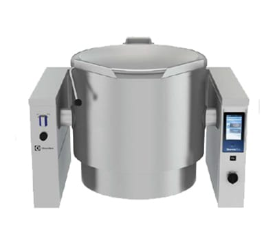 Electrolux 587017 40-Gallon Tilting Kettle w/ Full Jacket, Stainless, LP