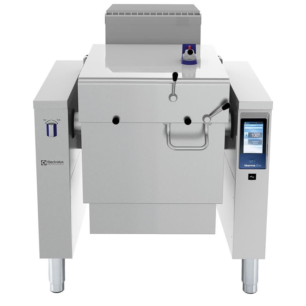 Electrolux 587027 24 Gallon Tilting Pressure Braising Pan, Stainless, NG