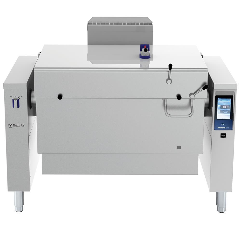 Electrolux 587028 45-Gallon Tilting Pressure Braising Pan, Stainless, LP