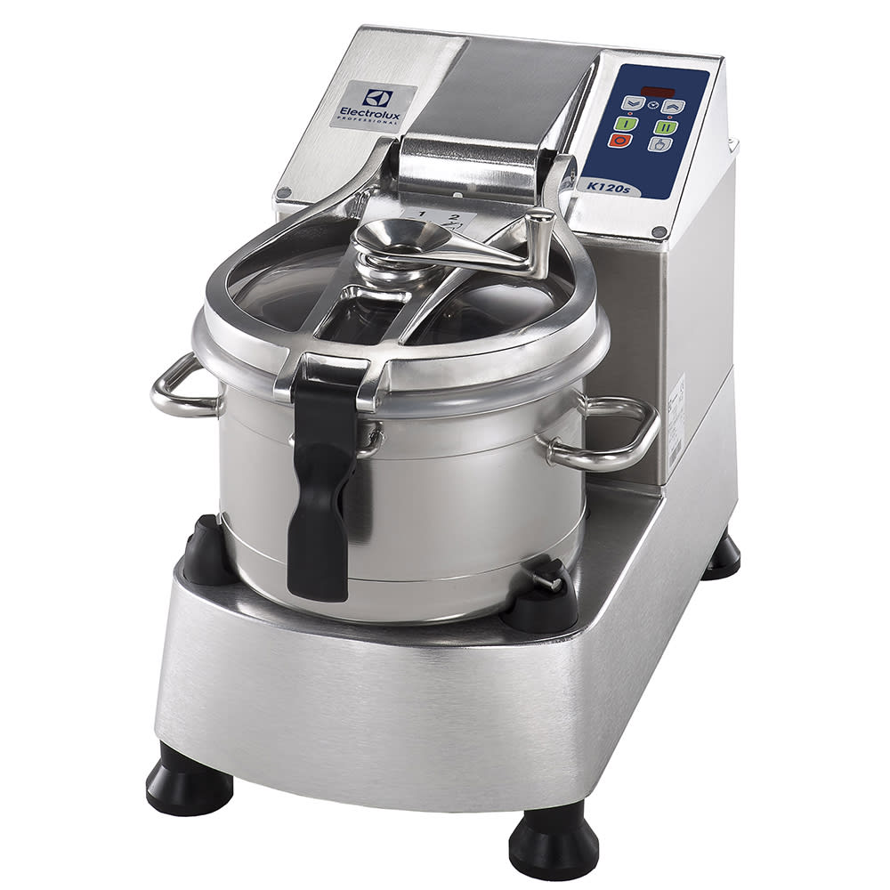 Electrolux 600085 12.2 qt Vertical Cutter Mixer - Bench Style, 2 Speed, Stainless Steel, 208/3V