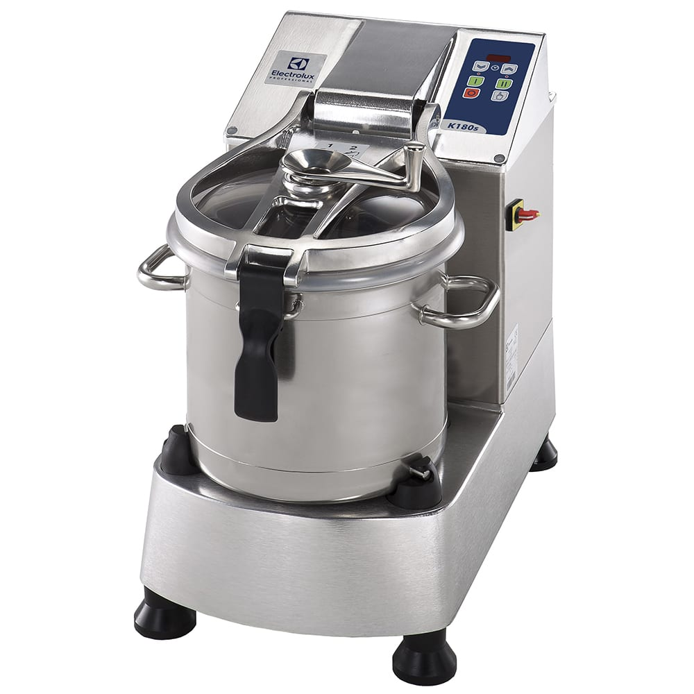Electrolux 600087 18.5 qt Vertical Cutter Mixer - Bench Style, 2 Speed, Stainless Steel, 208/3V