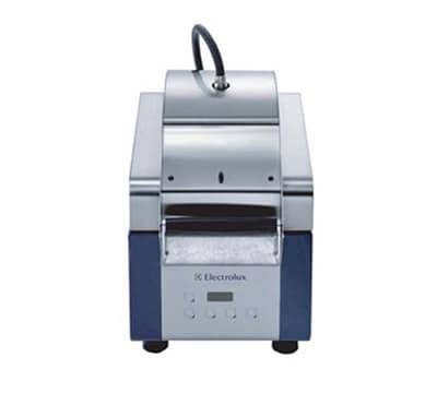 Electrolux 603691 High Speed Sandwich Press w/ Ribbed Top Plate & Smooth Quartz Bottom