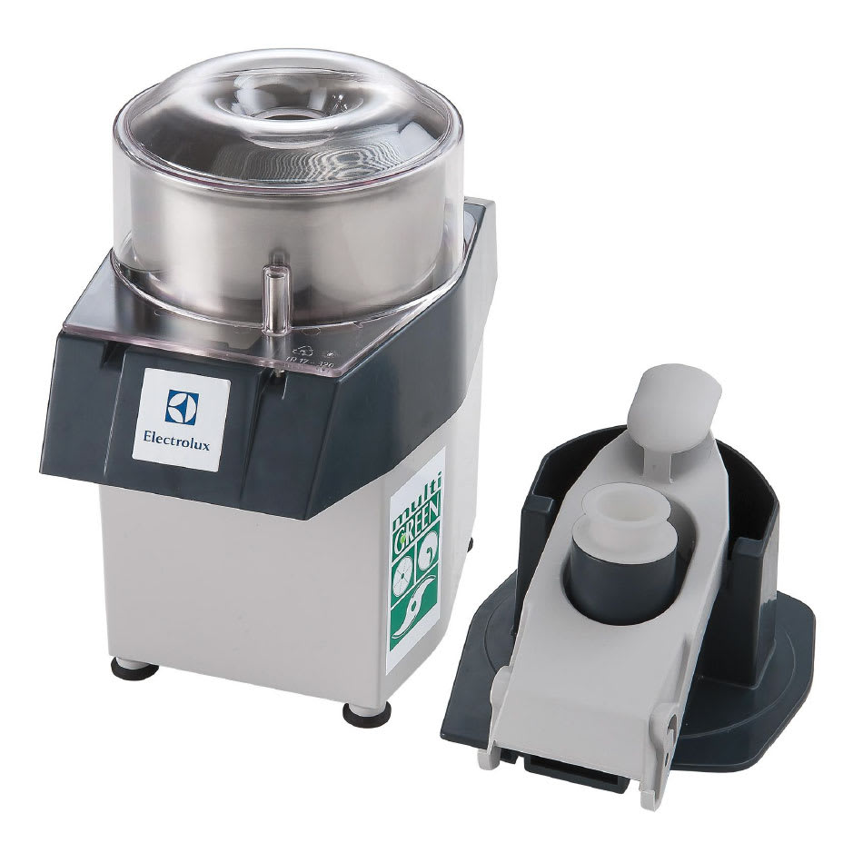 Electrolux 603809 1-Speed Continuous Feed Food Processor w/ Side Discharge & 3.2-qt Bowl, 115v