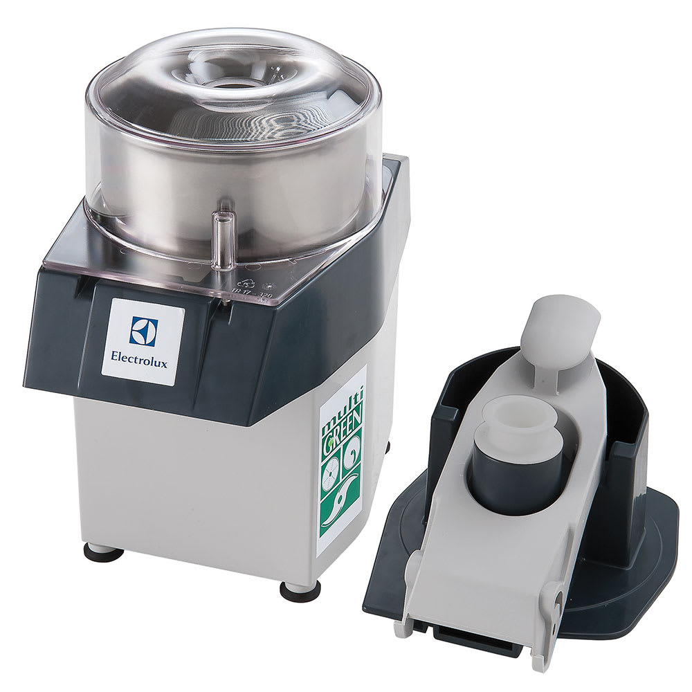 Electrolux 603810 1-Speed Continuous Feed Food Processor w/ Side Discharge, 3.2-qt Bowl, 115v