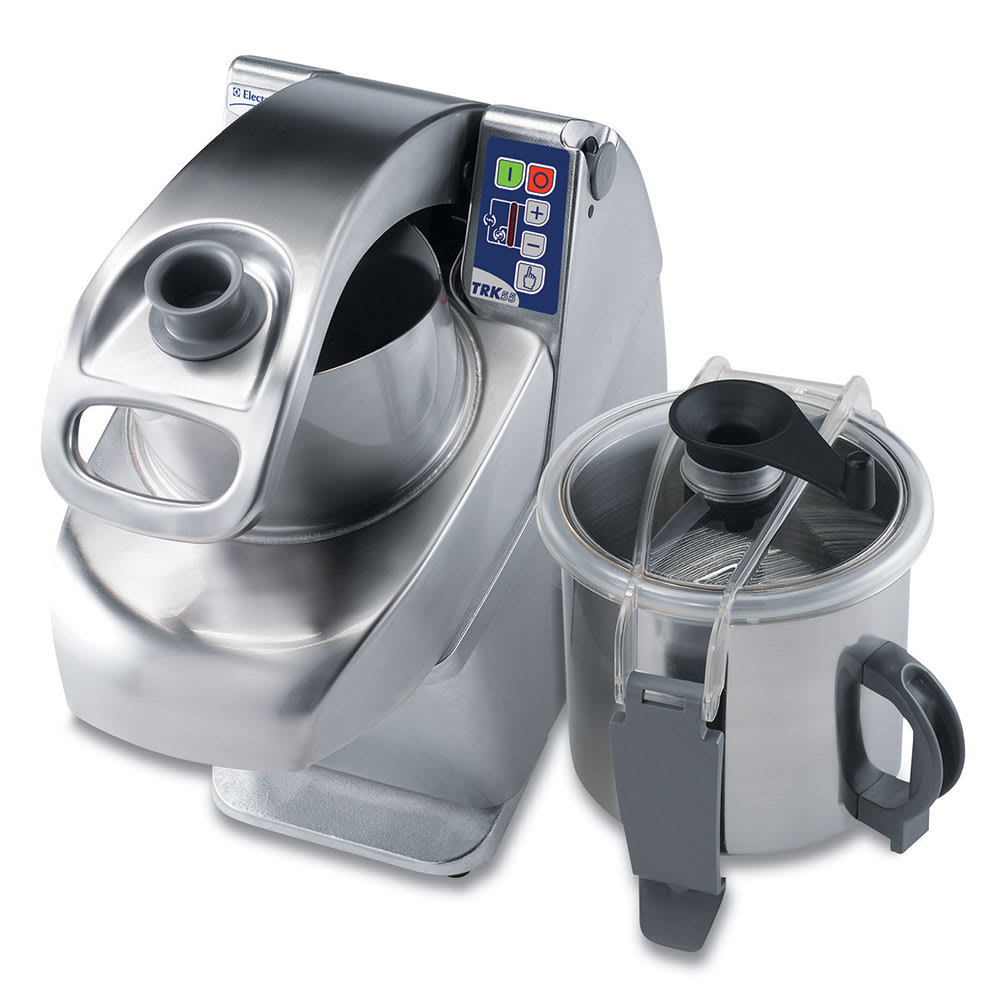 Electrolux 600494 Angled Vegetable Cutter Mixer - Continuous Feed, Variable Speed, 6 Amps, 120V