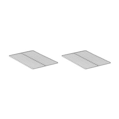 Electrolux 922062 Pair of half size oven racks, Type-304 Stainless