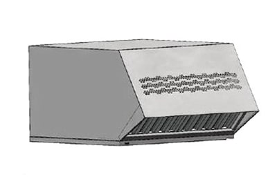Electrolux 9R0013 Condensate Hood fits Models 267281, 267321, 267283, & 267323, Stainless