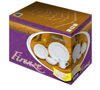 Crestware FRSET 16 Piece China Box Set, Firenze