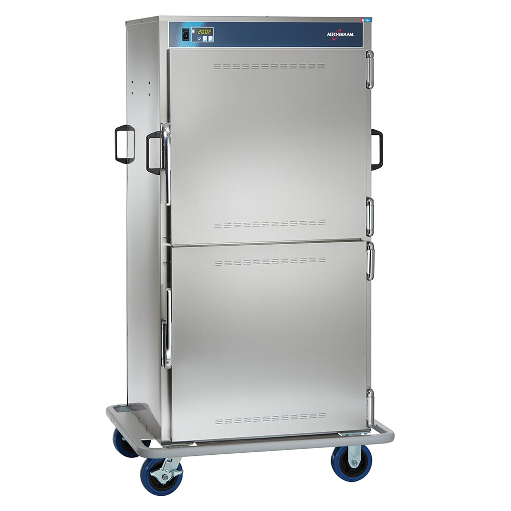Alto Shaam 1000-BQ2/96 Banquet Cart, 96 Plate Capacity, Dutch Doors, SS, 120v