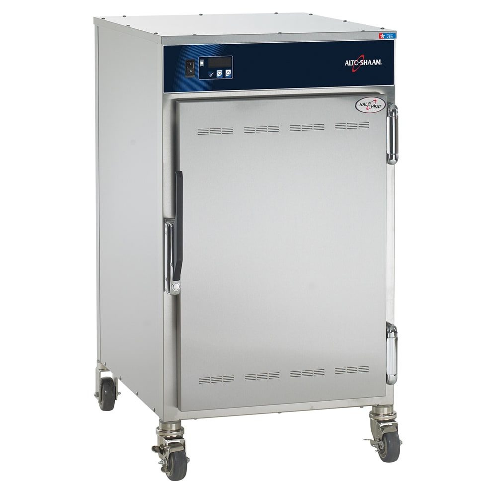 Alto Shaam 1000-S 1/2 Height Insulated Mobile Heated Cabinet w/ (4) Pan Capacity, 120v