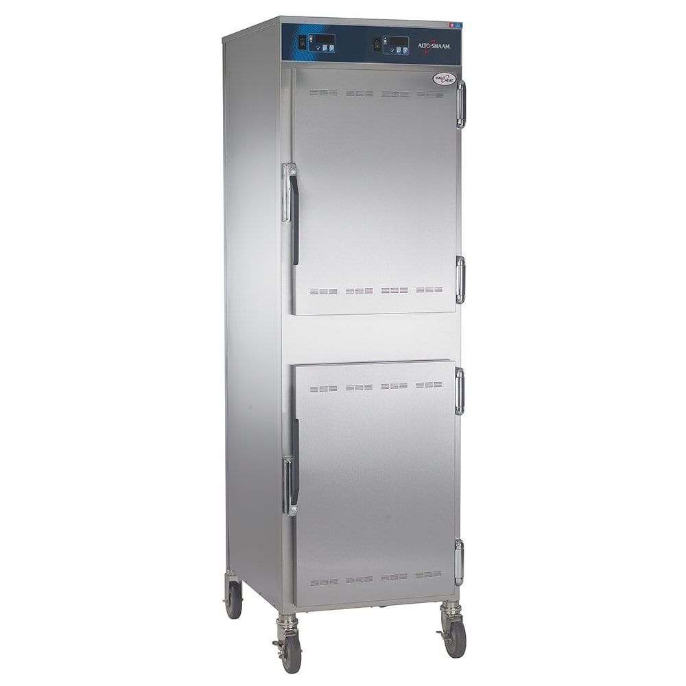 Alto Shaam 1000-UP/P Full Height Insulated Mobile Heated Cabinet w/ (8) Pan Capacity, 120v