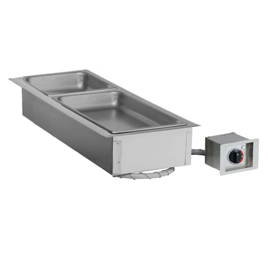 Alto Shaam 100-HW/D443 Drop-In Hot Food Well w/ (1) Full Size Pan Capacity, 120v