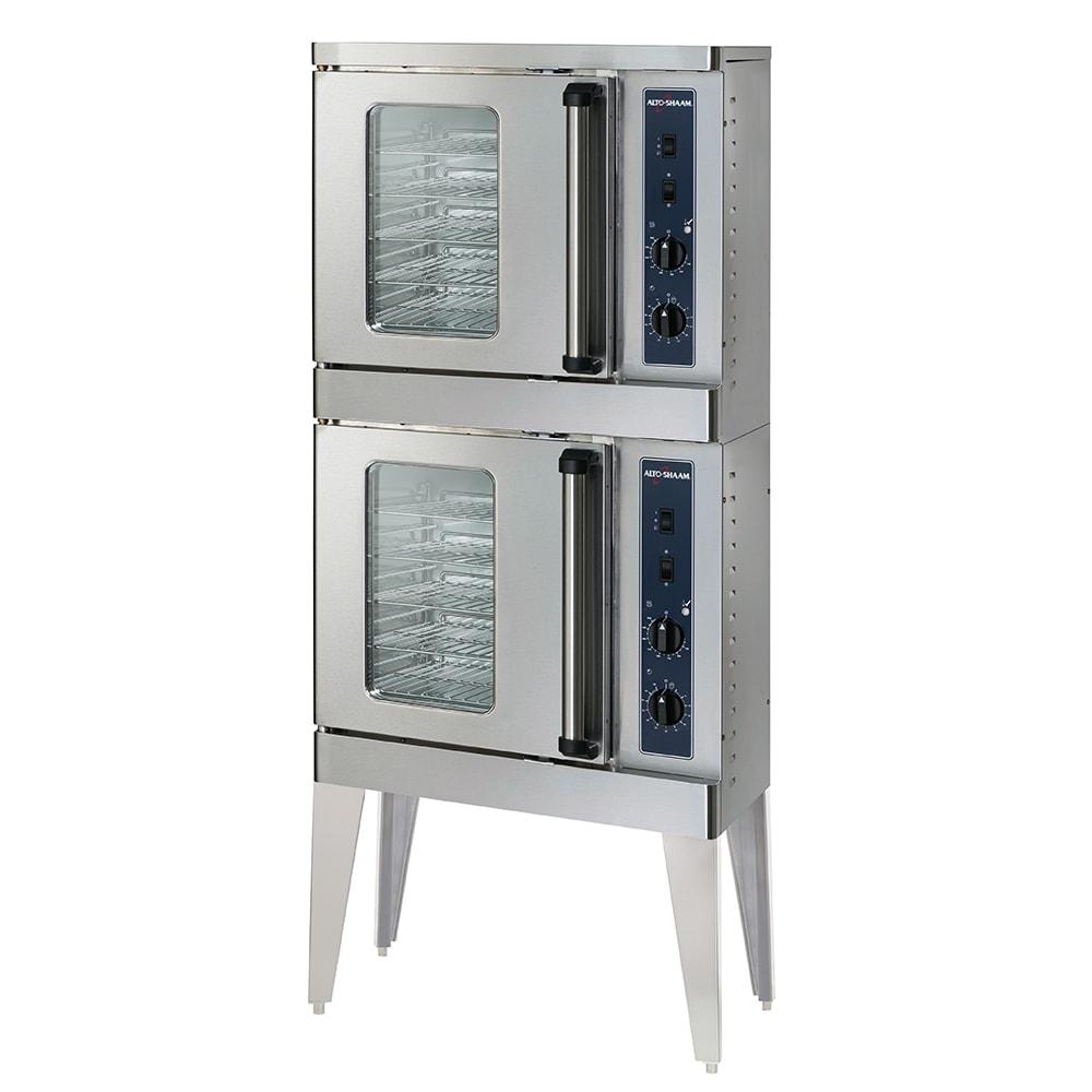 Alto Shaam 2-ASC-2E/STK Double Half Size Electric Convection Oven, 208v/1ph