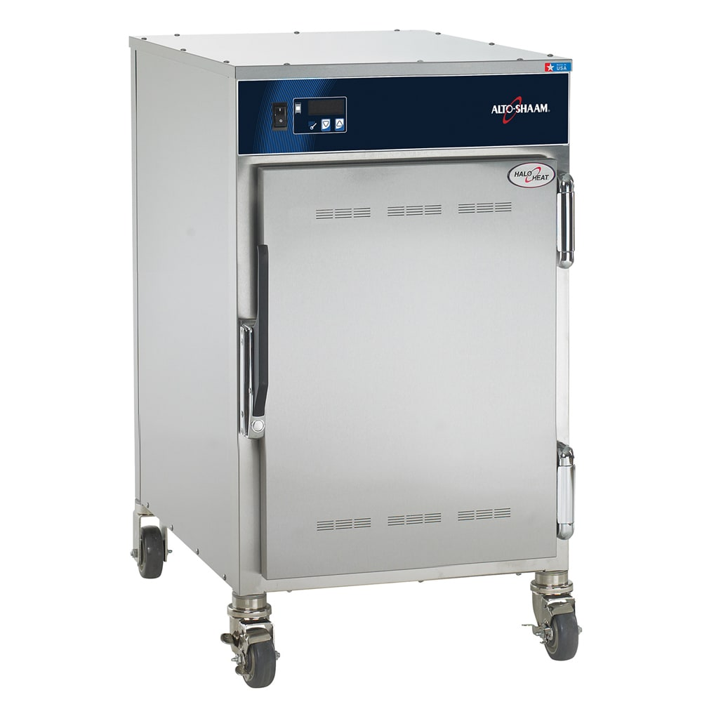 Alto Shaam 500-S 1/2 Height Insulated Mobile Heated Cabinet w/ (6) Pan Capacity, 120v