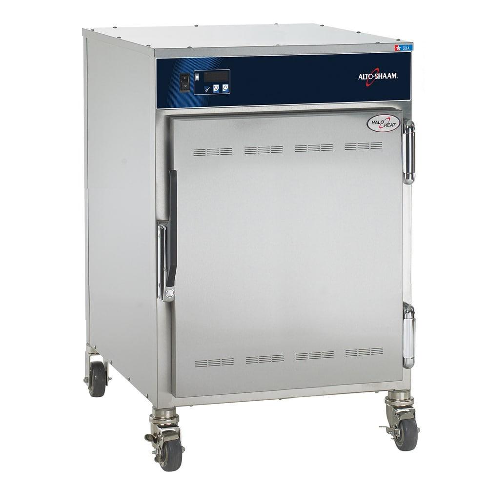 Alto Shaam 750-S 1/2 Height Insulated Mobile Heated Cabinet w/ (10) Pan Capacity, 120v
