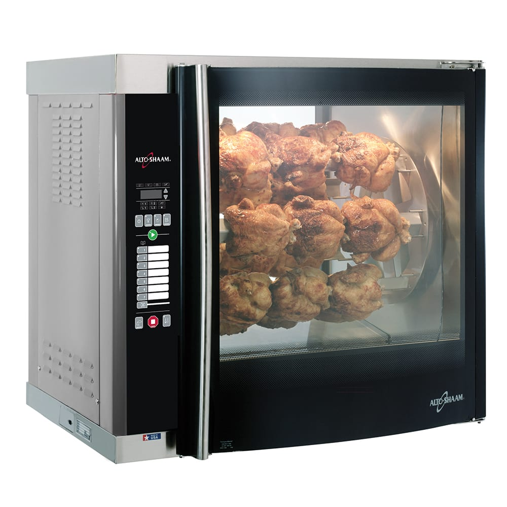 Alto Shaam AR-7E-SGLPANE Electric 7 Spit Commercial Rotisserie, 208v/1ph