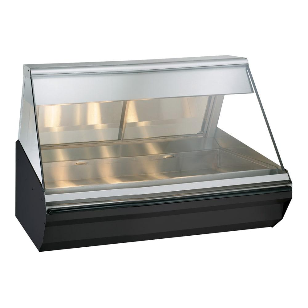 "Alto Shaam EC2-48-BLK 48"" Full-Service Countertop Heated Display Case - (1) Level, 120v/208 240v/1ph"
