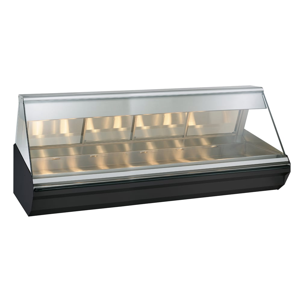 "Alto Shaam EC2-96/PL-SS 96"" Dual-Service Countertop Heated Display Case - (1) Level, 120v/208 240v/1ph"