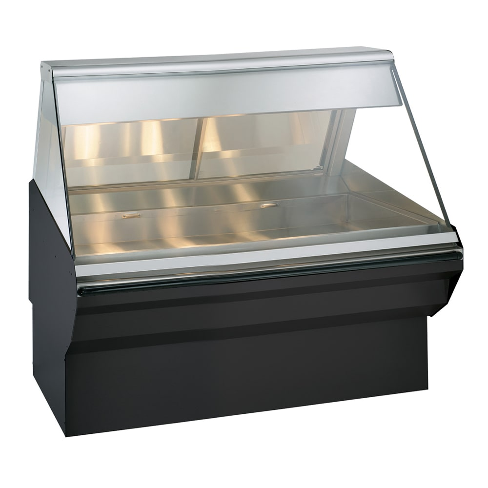 "Alto Shaam EC2SYS-48-BLK Full Service Heated Display Case, 48"", Black"