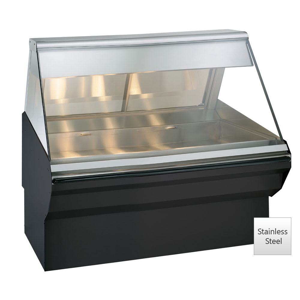 "Alto Shaam EC2SYS-48-SS Full Service Heated Display Case, 48"", Stainless"