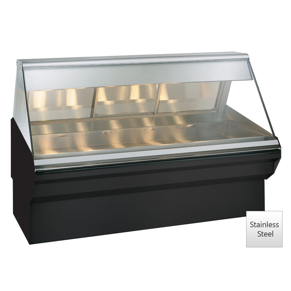 "Alto Shaam EC2SYS-72-SS Full Service Heated Display Case, 72"", Stainless"