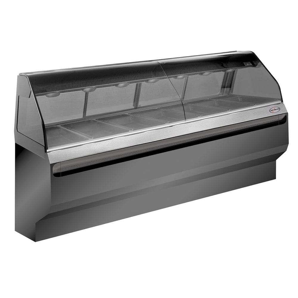 """Alto Shaam ED2SYS-96-SS Full Service Heated Display Case, European Style, 96"""", Stainless"""