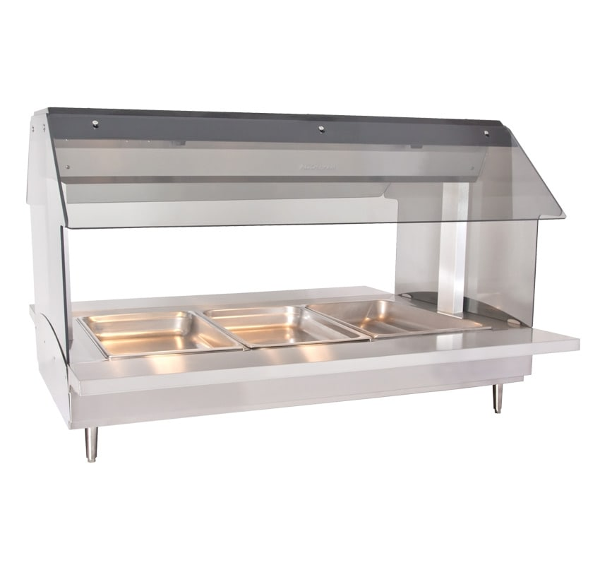 "Alto Shaam HFT2-300 2301 Countertop Hot Food Table, 48"" W, (3) 1/1 GN Capacity, Export"