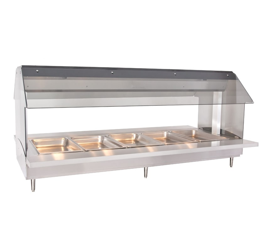 "Alto Shaam HFT2-500 2301 Countertop Hot Food Table w/ 72"" width, (5) 1/1 GN, Export"