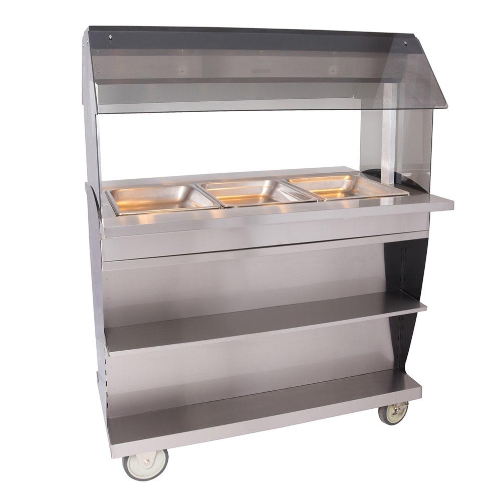 "Alto Shaam HFT2SYS-300 2081 Hot Food Table w/ 48"" Width, Base, (3) 1/1 GN, 208/1 V"