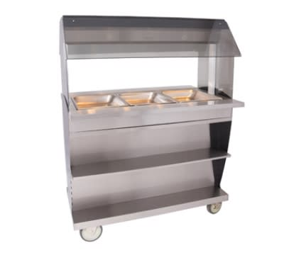 "Alto Shaam HFT2SYS-300 2301 Hot Food Table w/ 48"" Width, Base, (3) 1/1 GN, Export"