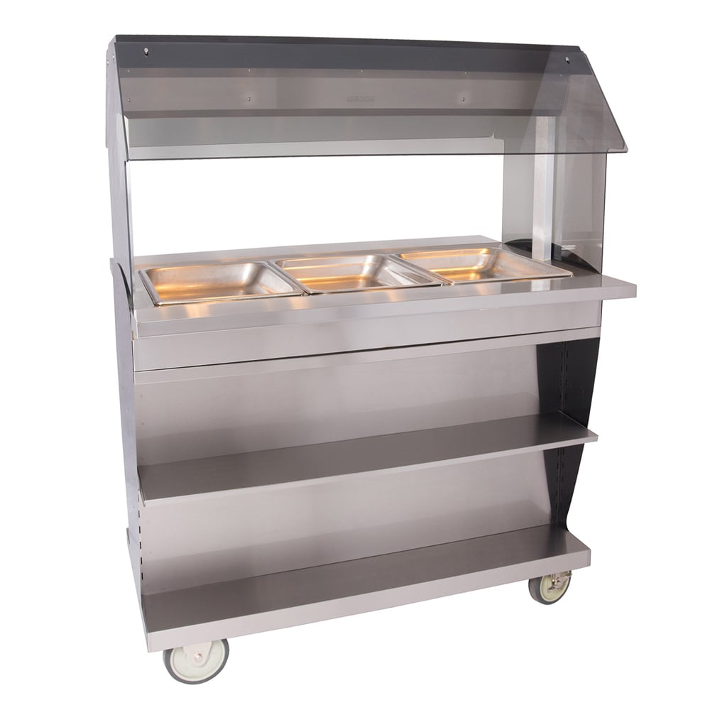 """Alto Shaam HFT2SYS-300 2301 Hot Food Table w/ 48"""" Width, Base, (3) 1/1 GN, Export"""