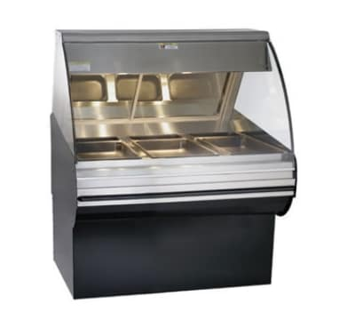 """Alto Shaam HN2SYS-48-SS Full Service Deli Display Case w/ Base, 48"""", Stainless"""